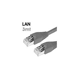 Lan cable Cat.5e UTP - 3 mt