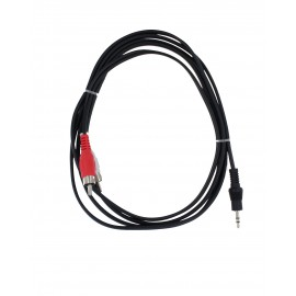 Connettore Jack 3.5mm / 2*RCA