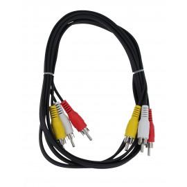 Connettori stereo 3*RCA / 3*RCA
