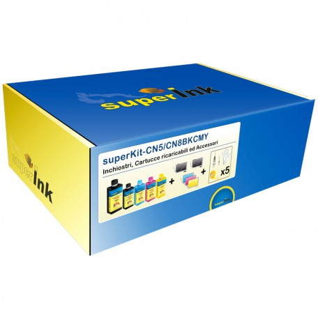 superKit-CN5/CN8BKCMY