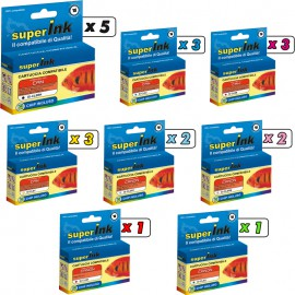 KIT-CL8 Photo+R+G (20 cartridges)