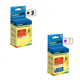 KIT-PG37/CL38 (3 cartucce)