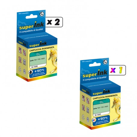 KIT-DELL720B/720C (3 cartridges)