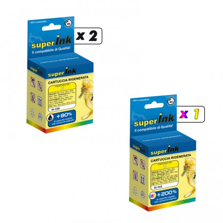 KIT-HP338/343 (3 cartridges)