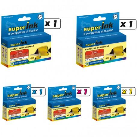 KIT-PG550/CL551-R (5 cartridges)