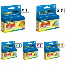 KIT-CN5/CN8BCMY-R (5 cartridges)