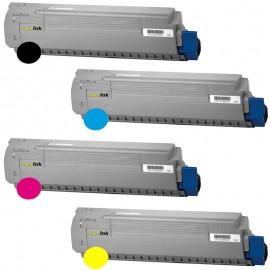 KIT-OKI5800 (4 toner)