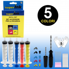 superInk Refill Set (5 colors)
