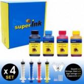 SI-KIT-INK-XSmall (HP) (4 colors dye)