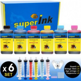 SI-KIT-INK-Small-2 (HP) (6 colors dye)