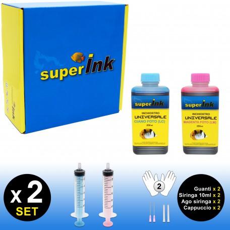 SI-KIT-INK-Foto-250 (Universale) (2 colori dye)